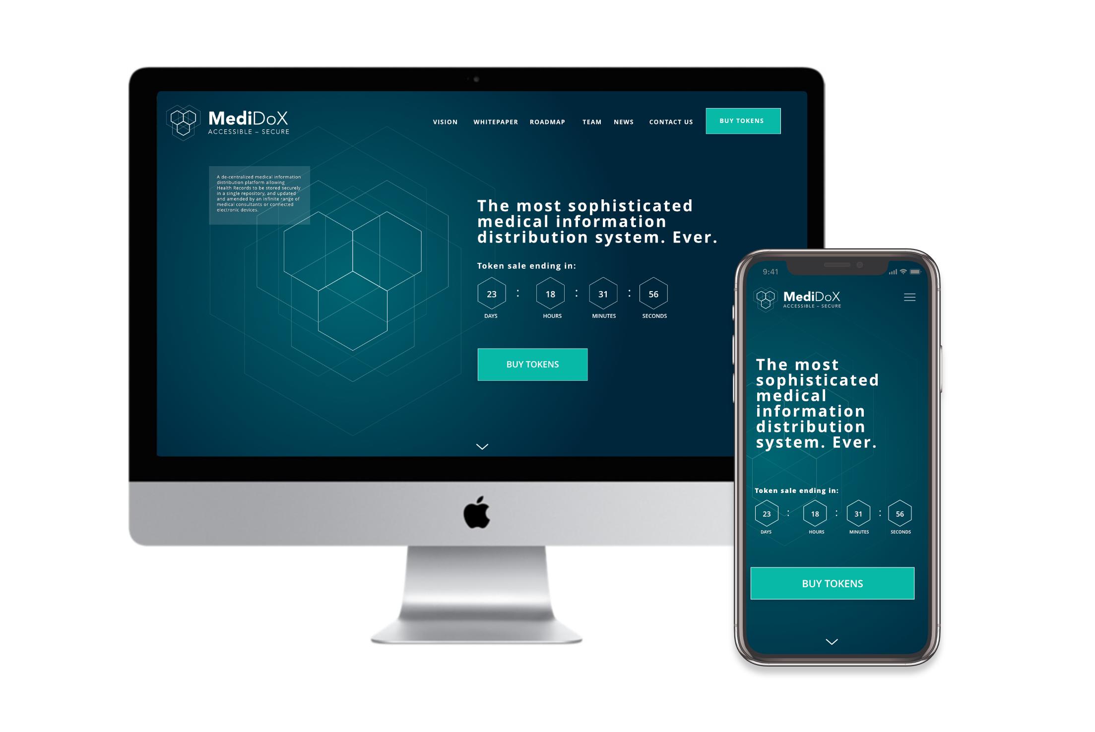 Website design by Charlotte Clark on mobile and desktop